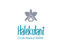 Halekulani on the beach at waikiki